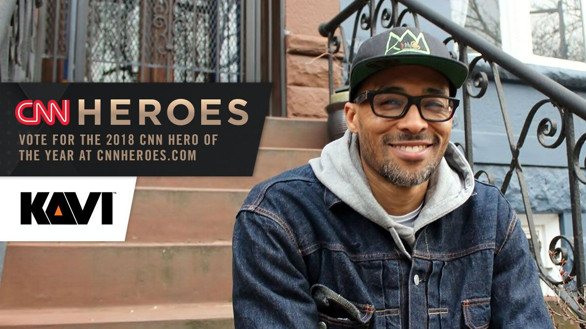 Vote Rob Gore for CNN Hero of the Year